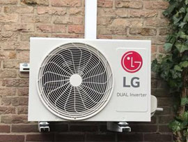 LG-wandunit-in-de-slaapkamer-en-kantoor-geplaatst-in-Baarn
